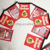 promotion laminated paper bunting