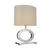Modern chrome hotel table lamp GB2156
