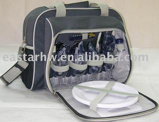 Top-ranking picnic bag for 4 persons