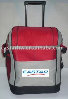 duffel cooler bag with trolley