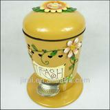 Decorative waste bins