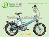 250W electric folding e-bike