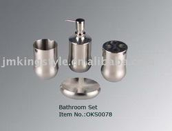 Stainless Steel Bathroom Set