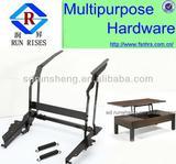 2013 lift up coffee table mechanism/hinged coffee table/coffee table lifting B02