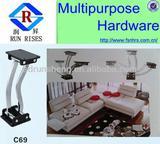 2013 hot sale adjustable sofa backrest hinge/sofa armrest mechanism/ furniture part C69