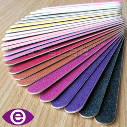 Colorful Disposable Wood Emery Board, Wooden Nail File