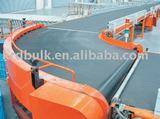 Rubber mobile horizontal belt conveyors