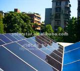 Solar power generator system for commercial