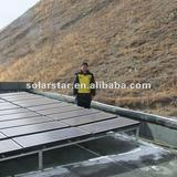 Solar generator for commercial