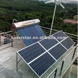 solar vacuum tube water heater system