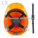 PE Material V style Light weight, good strength and toughness safety helmets