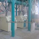 50TPD corn flour mill machine smooth operation corn maize flour production line