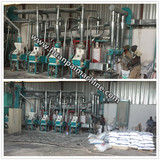 Automatic complete set wheat rolling mill/wheat flour mill making machine/grain flour processing line