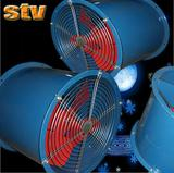 SF series energy-saving low noise axial exhaust ventilator