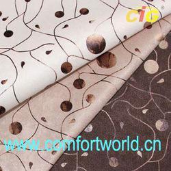 Bronzed Italian Velvet Fabric