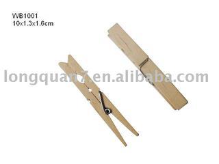 wooden clothes peg