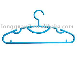 plastic hanger with swivel hook