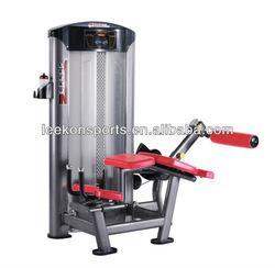 Silver gray leg curl extension gym machine&fitness equipment