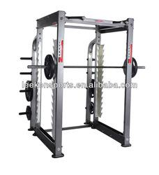 Commercial&professional smith machine fitness equipment with multi-function smith machine