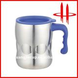 Stainless steel Metal Mug PP tight handle SJ-L207