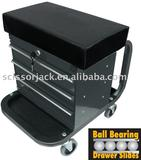 7040B,New Patented Roller Cabinet Seat