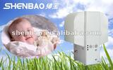 white low noise hood heat pump water heater with EVI scroll compressor