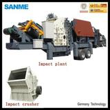 PP1210PFS portable crusher Impacting Plants