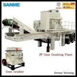 PP180SMHS Mobile Crusher Plant