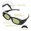 Universal 3D Active Shutter TV Glasses