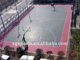 sangong lihua basketball interlocking sports flooring