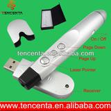 Remote Control RF Wireless Laser Pointer with play slide for teachers