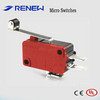 MIniature micro switch with stailess steel roller lever