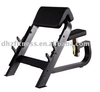 Seated Preacher Curl fitness equipment