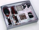 Hair brush set with many hair band and 2 hairpin and 2 hair accessory