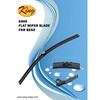 K-905 Windshield wipers for Benz E-Class, flat wiper blade, auto wiper blade