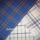 pure linen yarn dyed shirt fabric