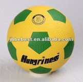 Bebest Hungriness best promotional ball rubber soccer rubber football rubber soccer balls