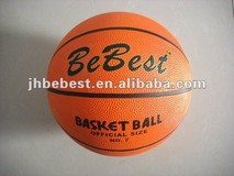 full printing size 7 cheap promotional rubber basketball