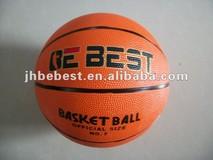 size 7 rubber sports basketball