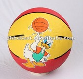 New style 7# sport official size rubber basketball