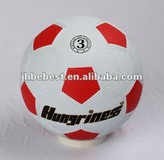 New best quanlity size 2,3,4,5 granule , golf , smooth hot sell 2014 world cup color and white rubber football soccer ball