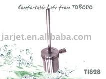 Unique toilet brush holder,Stainless steel tube toilet brush holderT1828