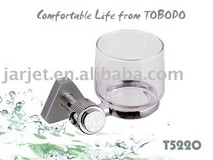 Stainless steel glass soap dish,bathroom set T5220