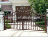 2013 manufacturer aotomatic wrought iron gates decorive gates door