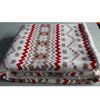 Coral fleece/sherpa throw blanket