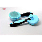 Pet Self-cleaning slicker Brush