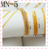 2012 fashion fake gold 24k bracelet for women and men