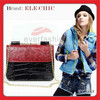 2013 china wholesale ladies Shoulder bag leather ostrich handbag manufacture satchel bag