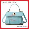 Genuine leather handbags long strap shoulder handbag