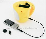 portable solar home lighting system with charge function